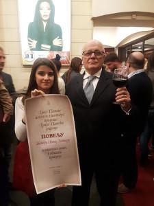 Унука са дедом - Свечаност поводом дана обележавања Дана ослобођења Панчева - 10. новембар 2017. године