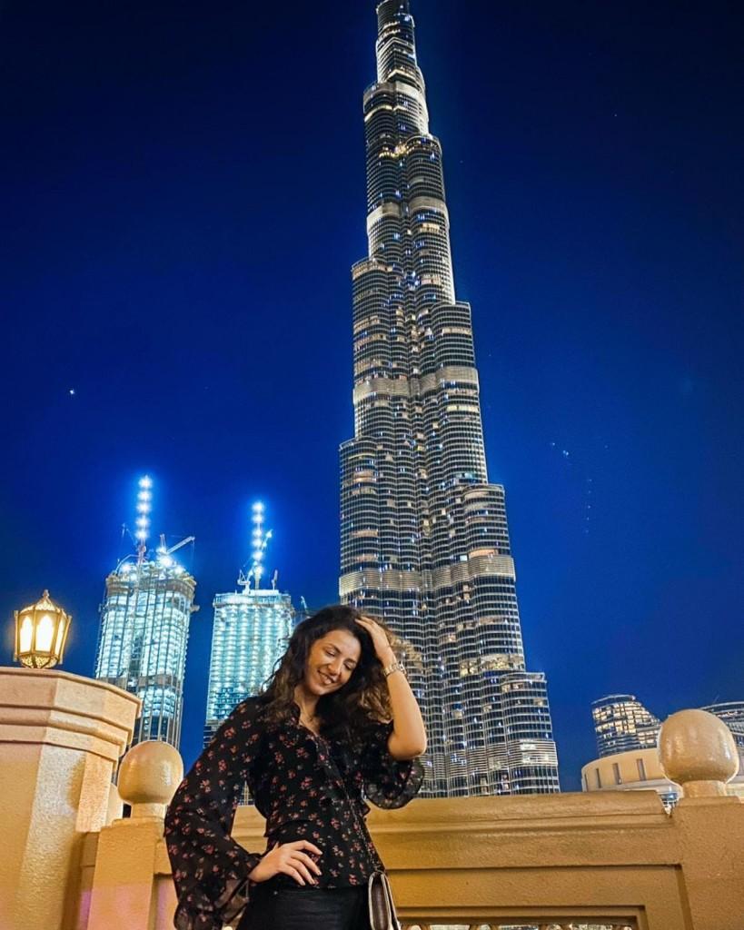 Tamara Cvetanović u Dubajiu